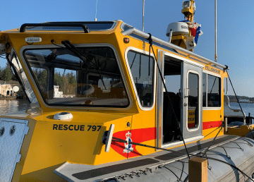 Rescue 797, Yellowknife's new search and rescue vessel