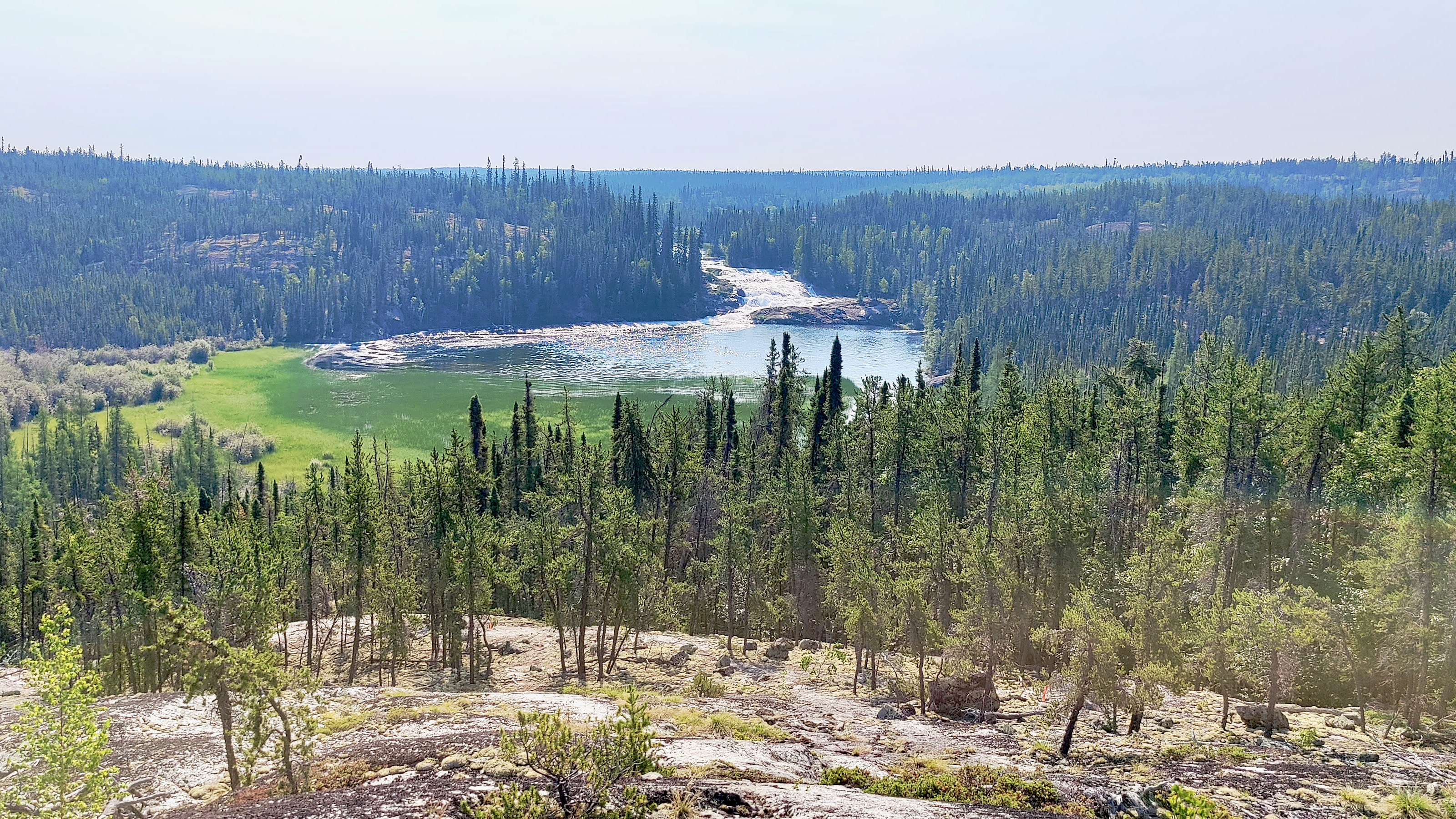 Yellowknife recorded its all-time highest temperature on Monday