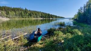 The west end of Jennejohn Lake