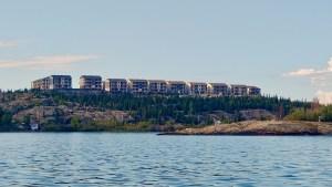 Yellowknife's Summit housing development