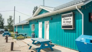 Chase's Pit Stop in Fort Smith in August 2021. Sarah Pruys/Cabin Radio