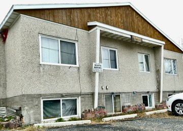 An apartment building on Yellowknife's 53 Street acquired by Home Base YK