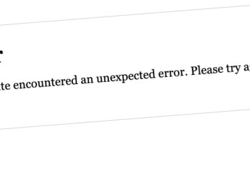 An error message returned by GNWT websites on October 17, 2021